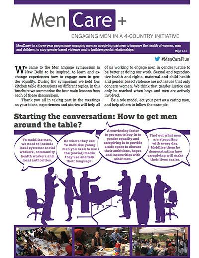 MenCare+ Kitchen Table Talks