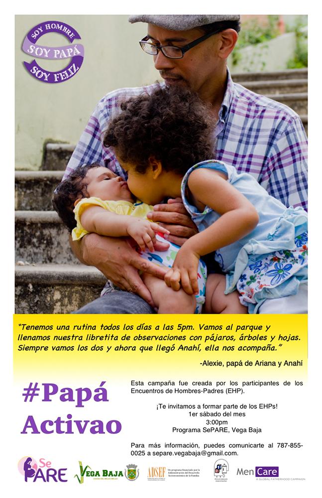 MenCare Puerto Rico Poster: Alexie